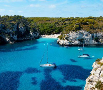 Macarelleta beach in Menorca - Balearic Islands