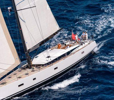 76ft CNB - under sail
