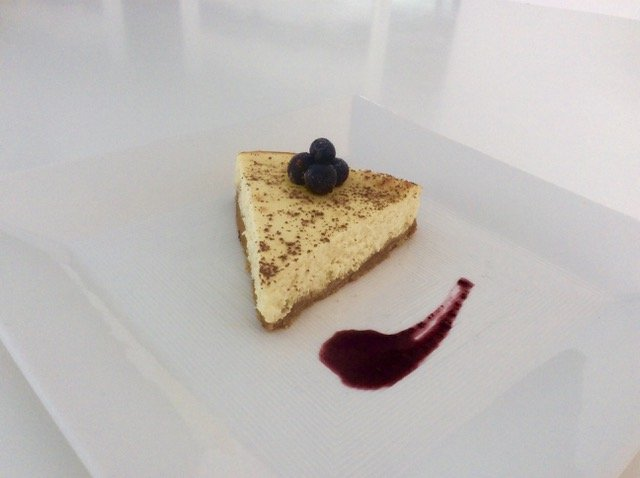 Cook Like A Pro Isabella S White Chocolate Cheese Cake Merex Yachts Charters